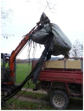 Evacuation déchets Plaine Ardeche fev16